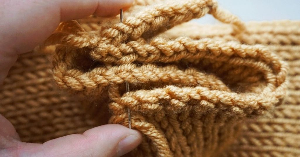 double knit seaming