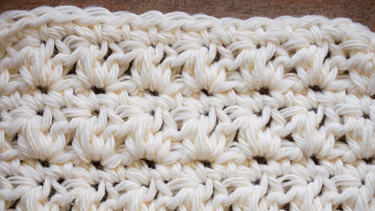 mixed cluster stitch detail